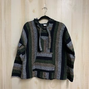 EUC Baja Joe Poncho Size Medium